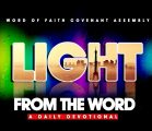 LIGHT FROM THE WORD DAILY DEVOTIONAL